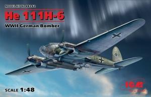 ICM 48262 Bombowiec Heinkel He 111H-6 skala 1-48
