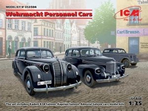 Wehrmacht Personnel Cars model ICS DS3504 in 1-35