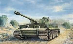 Tank Tiger I Ausf.E (Tp) in scale 1-35