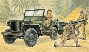 Italeri 0314 Willys MB Jeep with Trailer