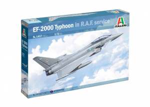 EF-2000 Typhoon model Italeri 1457 in 1-72