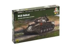 M18 Hellcat model Italeri in scale 1-56