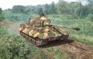Sd.Kfz.182 Tiger II model Italeri 15765 in 1-56 Warlord Games