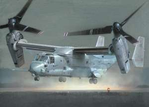V-22 Osprey in scale 1-48