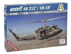 Helicopter Bell AB 212 / UH-1N model Italeri 2692 in 1-48