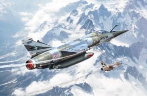 Bye-Bye Mirage F1 model Italeri 2790 in 1-48