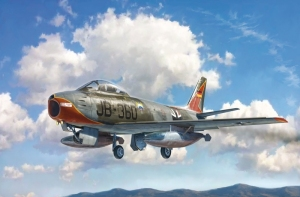 F-86E Sabre model Italeri 2799 in 1-48