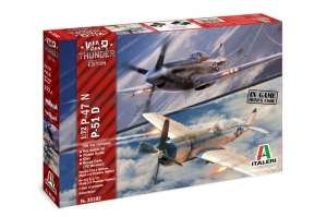 War Thunder - P-47N and P-51D Italeri 35102
