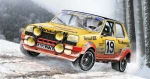 Renault R5 Alpine Rally in scale 1-24