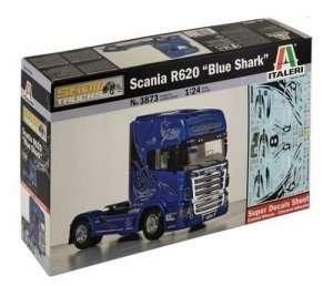 Scania R620 Blue Shark in scale 1-24