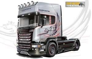 Scania R730 Streamline 4x2 model Italeri 3906 in 1-24