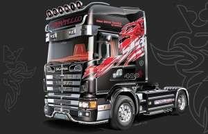 Truck Scania 164L Topclass model Italeri in 1-24