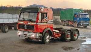 Mercedes Benz 2238 6x4 model Italeri in 1-24
