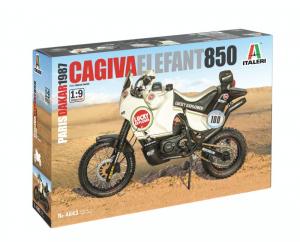 Italeri 4643 Motocykl Cagiva Elefant 850 Paryż-Dakar 1987