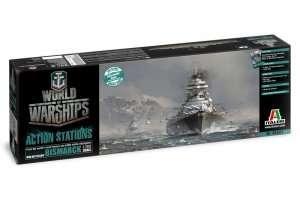 Italeri 46501 Okręt Bismarck - WoW