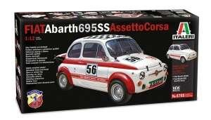 Fiat Abarth 695SS/Assetto Corsa in scale 1-12
