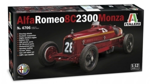 Alfa Romeo 8C 2300 Monza model Italeri 4706 in 1-12
