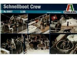 Schnellboot crew in scale 1-35