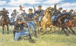 Union Cavalry in scale 1:72