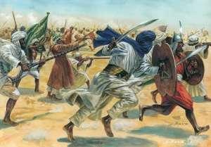 Arab Warriors in scale 1-72