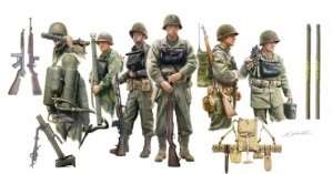 US Infantry On Board in scale 1-35