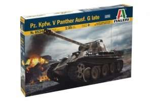 Italeri 6534 Tank Pz.Kpfw. V Panther Ausf. G Late