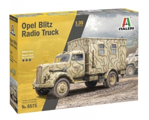 Opel Blitz Radio Truck model Italeri 6575 in 1-35