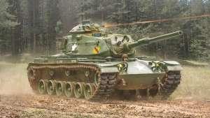 Tank M60A1 in scale 1-72 Italeri 7075