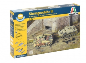 Sturmgeschutz III Fast Assembly Italeri 7522 in 1-72