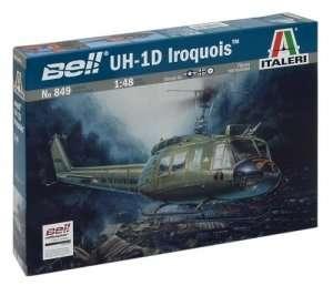UH-1D Iroquois model Italeri 0849 in 1-48