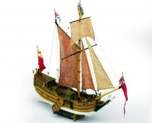 Yacht Mary - Mamoli MV28 - wooden ship model kit
