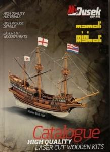 Katalog drewnianych modeli Dusek, Mamoli i Mini Mamoli