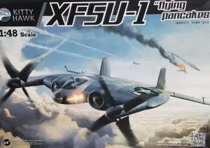 XF5U-1 Flying Pancakes in scale 1-48