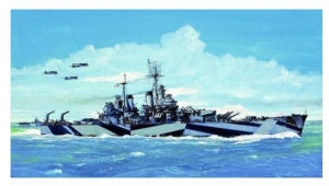 USS Baltimore CA-68 1944 model Trumpeter 05725 in 1-700