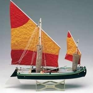 Bragozzo della laguna veneta - Amata 1570 - wooden ship