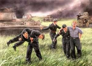 MB 3536 Niemiecka załoga czołgu, Kursk 1943