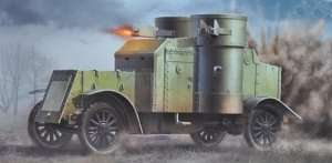 MB 72007 British Armored Car, Austin Mk III WWI