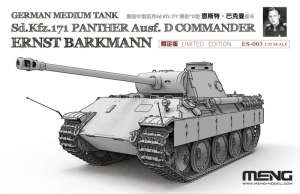 Sd.Kfz.171 Panther Ausf.D Commander Barkman- Meng, in scale 1-35