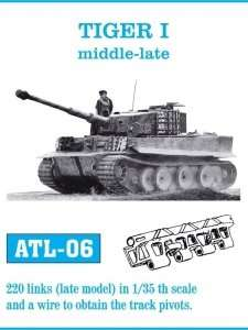 Metal tracks for Tiger I tank, Sturmtiger