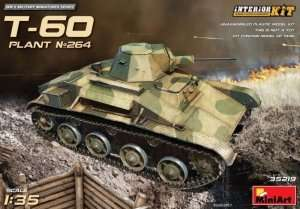 T-60 Plant No 264 in scale 1-35
