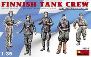 Finnish Tank Crew in scale 1-35 MiniArt 35222