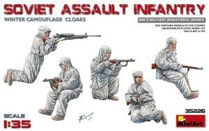 Soviet assault infantry winter comouflage cloaks MiniArt 35226
