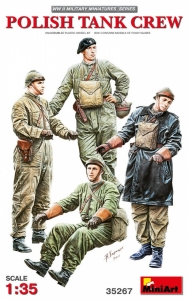 Polish tank crew MiniArt 35267 in 1-35