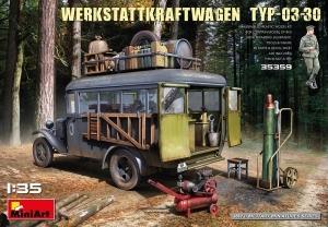 Werkstattkraftwagen Typ-03-30 model MiniArt 35359 in 1-35