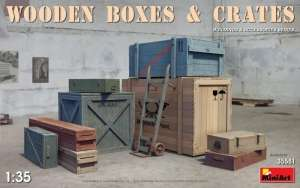 Wooden Boxes and Crates in scale 1-35
