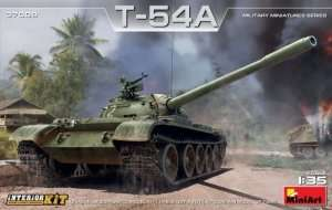 T-54A with Iterior Kit in scale 1-35