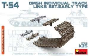 T-54 OMSh Indyvidual Track Links Set. Early Type in scale 1-35