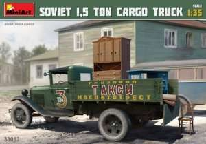 Soviet 1,5 ton Cargo Truck in scale 1-35