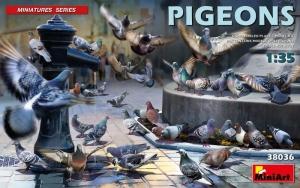 Pigeons model MiniArt 38036 in 1-35