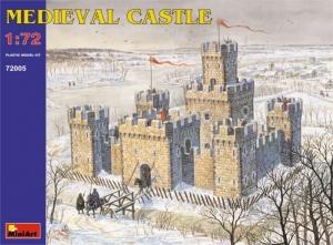 MiniArt 72005 Średniowieczny zamek model 1-72